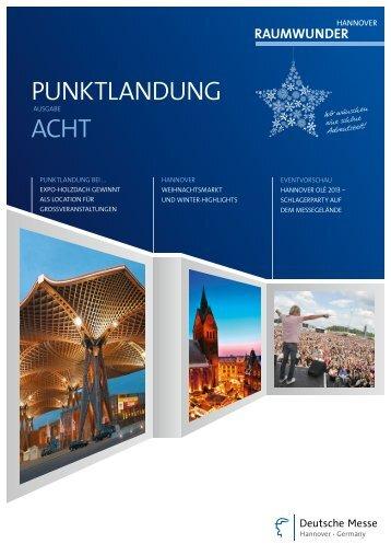 PUNKTLANDUNG ACHT - Raumwunder Hannover