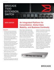 BROCADE 7500 EXTENSION SWITCH - BL Trading