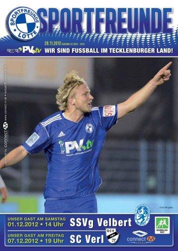 SC Verl SSVg Velbert - Sportfreunde Lotte