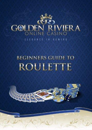 Roulette 1 - Golden Riviera Online Casino
