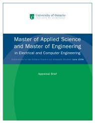 Electrical and Computer Engineering - Postsecondary Education ...