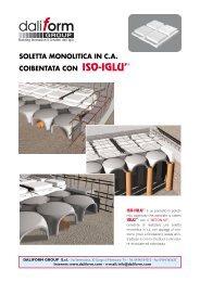 soletta monolitica in ca coibentata con iso-iglu - Edilportale