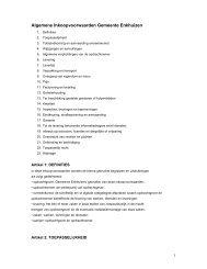 Algemene Inkoopvoorwaarden Gemeente Enkhuizen - TenderGuide