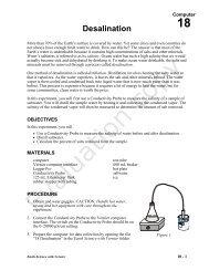 Acid Dissociation Constant, Ka - Vernier Software & Technology