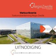 Uitnodiging Werkconferentie Regio Zwolle 31 oktober 2014