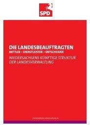 Dialogpapier Landesbeauftragte - SPD Niedersachsen