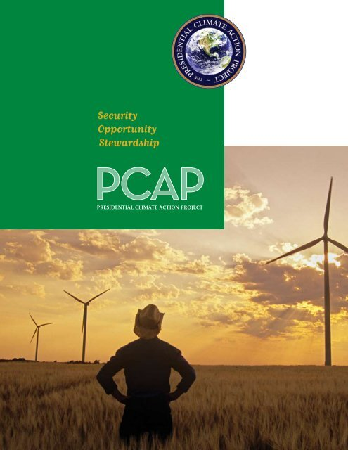 Security Opportunity Stewardship - Presidential Climate Action Project