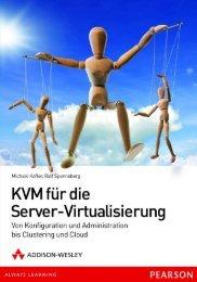 (PDF) KVM für die Server-Virtualisierung - Michael Kofler