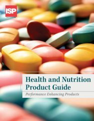Health and Nutrition Product Guide - Anshul Life Sciences