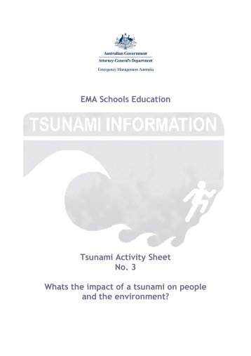What is the impact of a tsunami on people and the ... - PreventionWeb