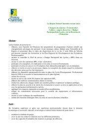La Région Poitou-Charentes recrute un(e) Chargé(e) de mission ...