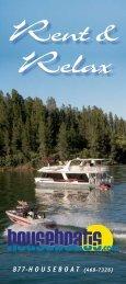 877-H O U S E B O A T (468-7326) - houseboat on Shasta Lake