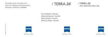 User Handbook / Warranty Gebrauchshinweise / Garantie Mode d ...
