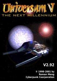 Das Regelheft v2.92 zu Universum V - Chronator