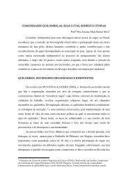 Comunidades quilombolas, suas lutas, sonhos e utopias