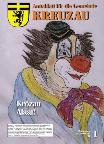 Amtsblatt Nr. 01/2010 vom 22.01.2010 - Gemeinde Kreuzau