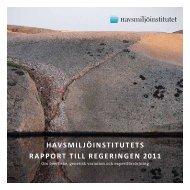 Regeringsrapport 2011 (PDF, 714 kB) - Linnéuniversitetet