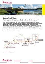 station Duivendrecht - ProRail
