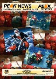 December - Peak Riders