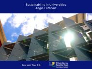 What does carbon foot printing mean for Universities? - Tertiary ...