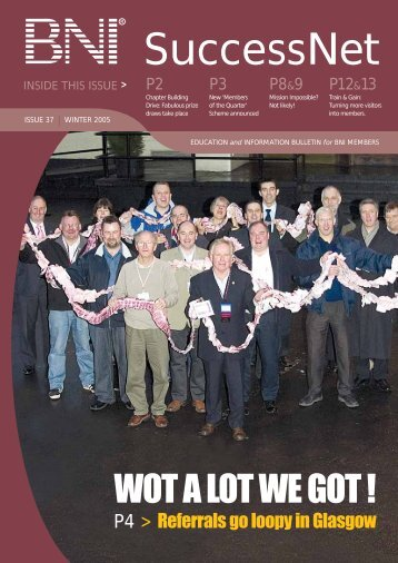 SuccessNet Winter 2005/6 - BNI Europe