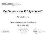 Vortrag Prof. Zimmer - Robert Bosch Stiftung