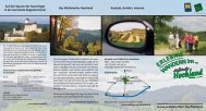 Folder Erlebniswanderungen - Waldviertler Hochland