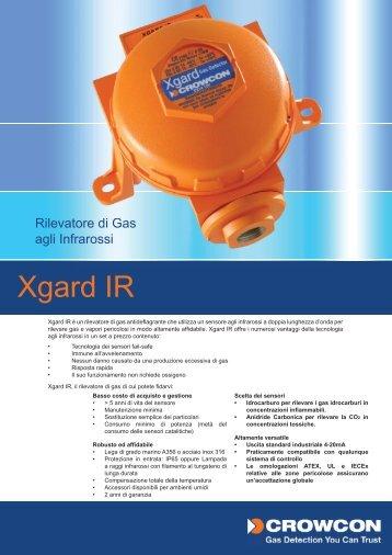 Xgard IR (italian).indd - Delta Strumenti S.r.l.