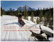 Read the Tourism Snapshot –November 2012 in full. - Canadian ...