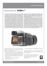 DIGITALKAMERAS - Hasselblad