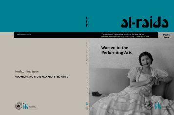 Women in the Performing Arts - Lebanese American University