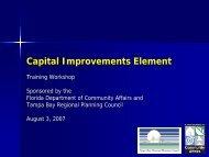 Capital Improvements Element - Northeast Florida Regional Council