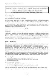 Règlement CUI-CAE quartiers prioritaires - Région Poitou-Charentes