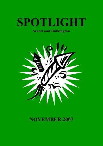 Nov 07 Spotlight.pdf - Seend