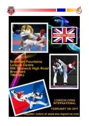 Application Form - British Taekwondo