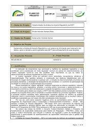 Implementação da Análise do Impacto Regulatório na ... - GesANTT