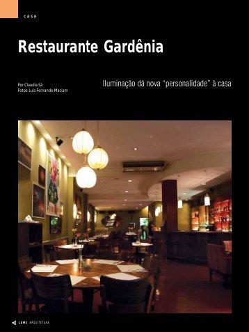 Restaurante Gardênia - Lume Arquitetura