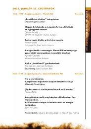 2005. JANUÁR 27. CSÜTÖRTÖK