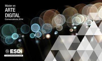 Máster en Arte Digital 2013-2014.pdf - ESDi