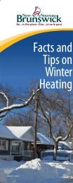 Winter Home Heating Frequently Asked Questions - Government of ...