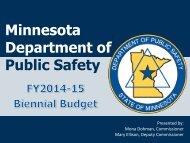 Minnesota Department of Public Safety - Minnesota Senate