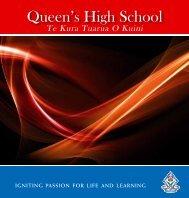 Prospectus - Queen's High School