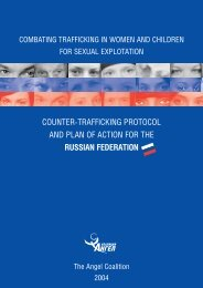counter-trafficking protocol and plan of action for the ... - MiraMed