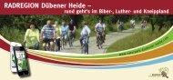 RADREGION Dübener Heide – rund geht's im Biber-, Luther