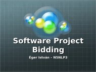 Software Project Bidding
