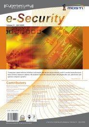 Contributors - CyberSecurity Malaysia