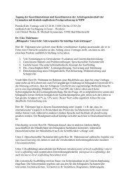 Protokoll 4. März 2010 - Arbeitsgruppe der Koordinator(inn)en in der ...
