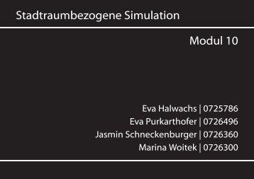 Stadtraumbezogene Simulation Modul 10