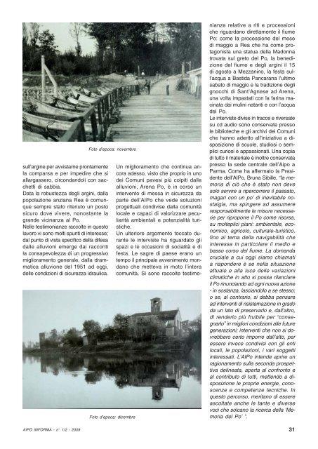 View - Agenzia Interregionale per il fiume Po