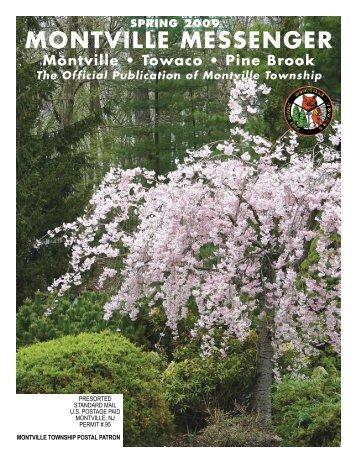 Spring 2009 - Montville Township